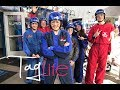 I went indoor skydiving! Ազատ թռիչք փակ տարածքում