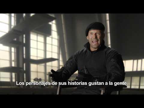 Los mercenarios 3 - Entrevista a Jason Statham