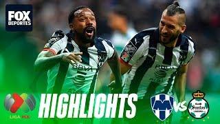 Rayados 5-2 Santos | HIGHLIGHTS | Cuartos de final de Ida | Liga MX