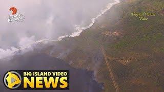 Hawaii Volcano Eruption Update - Sunday Evening (July 8, 2018)