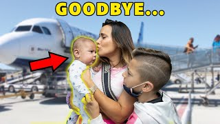 Saying GOODBYE To Our BABY For First Time! **EMOTIONAL** | The Royalty Family