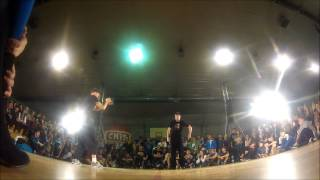 Lipskee( New Bronx Players) - Popping Showcase at Pal Parkiet 2013
