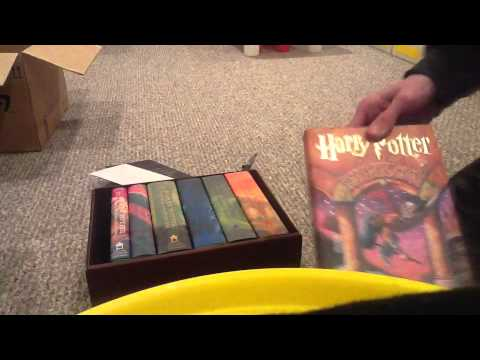 Harry Potter American Edition Books Unboxing