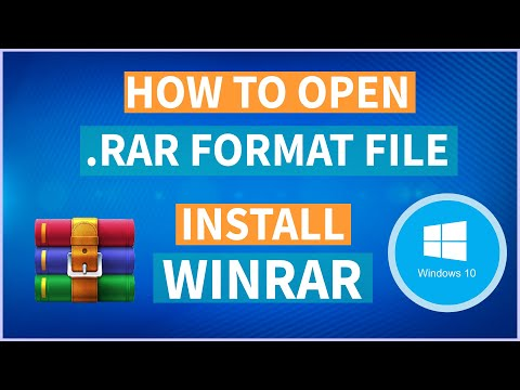 How to open a .rar format file | Extract RAR File in Windows 10 | In Hindi | Aksh TFL |