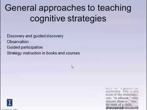 Cognitive Strategy Youtube