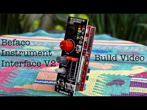 Kit Overview # 60 - building Befaco's Instrument Interface v2