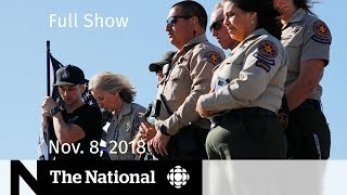 The National for November 8, 2018 — Bombardier Cuts, Cali Shooting, At Issue