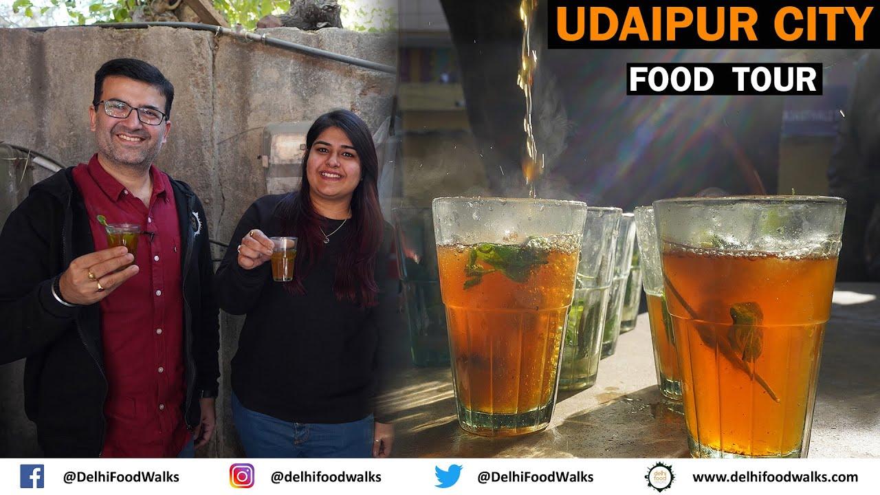 Udaipur STREET FOOD Tour: Pandit Ji LEMON Tea + MASTERCHEF Egg BHURJI + Chapli KEBAB + TILAPIA Fish