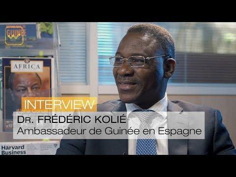 Dr. Frédéric Kolié, Ambassadeur de Guinée en Espagne