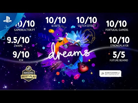 Dreams   O aclamado novo título da Media Molecule, JÁ DISPONÍVEL!   PS4