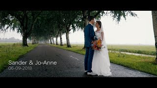 Bruiloft Sander & Jo-Anne