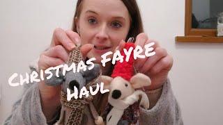 HAUL FROM BURY ST. EDMUNDS CHRISTMAS FAYRE
