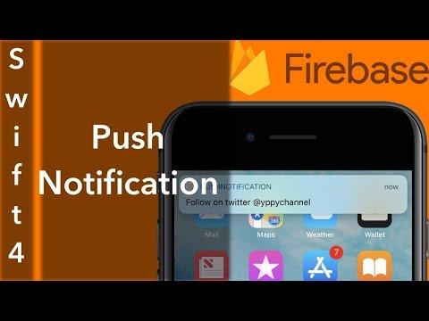 Push Notifications (Swift 4 + Xcode 9.0)