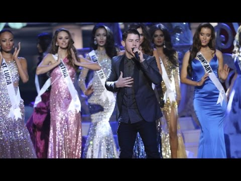 Nick Jonas Teacher Live miss Universe 2015