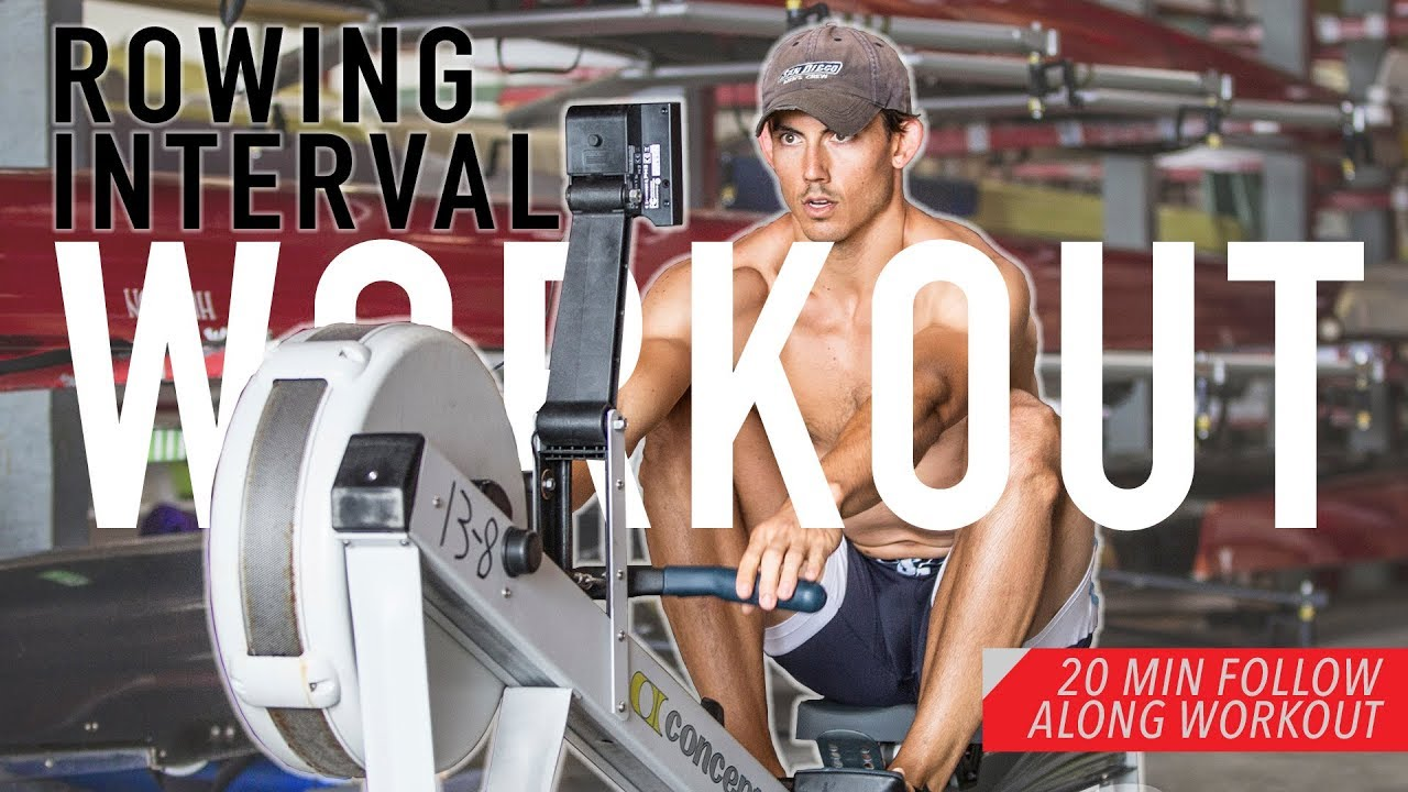 does rowing machine burn stomach fat
