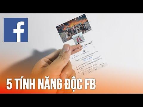 5 Tính Năng Mới Cực độc Trên Facebook