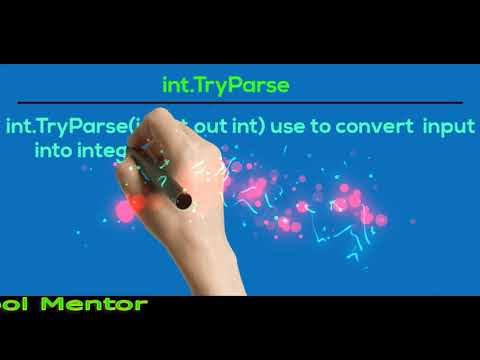 300 C# Tricky Q&A |  Int32.Parse Vs Convert.ToInt32 Vs Int32.TryParse