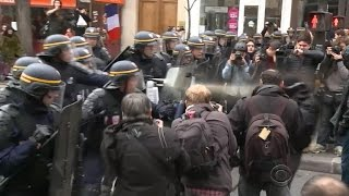 Paris facing security challenge from terrorists and climate protesters