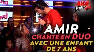 """Une fille de 7 ans chante """"Longtemps"""" avec Amir  #RicoShow #NRJ"""