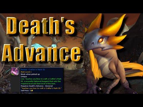 NEW FACTION!! Death's Advance | Shadowlands Patch 9.1 Rewards & Profession Guide