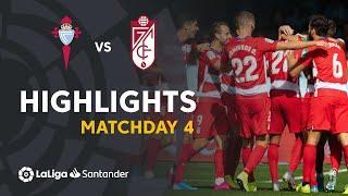 Highlights RC Celta vs Granada CF (0-2)