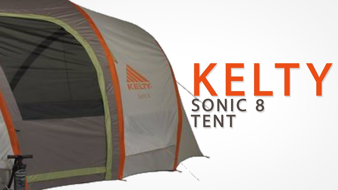 Kelty Sonic 8 Tent - 8-Person 3-Season & Kelty Sonic 8 Tent - 8-Person 3-Season - YouTube
