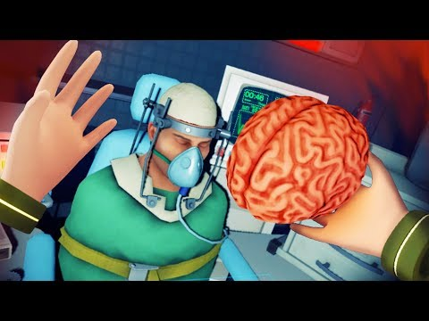 MORTY CLONE BECOMES A REAL BRAIN SURGEON!!?! (Rick and Morty VR / Surgeon Simulator VR Oculus Rift)