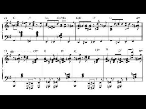 Carolina Shout- James P. Johnson (Piano Transcription)