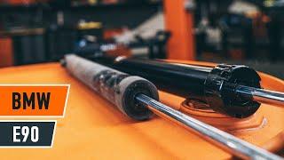 Vgradnja Blažilnik BMW 3 (E90): brezplačen video