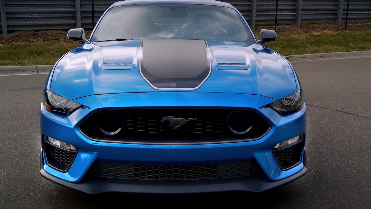 NEW 2021 Ford Mustang MACH 1 Fastback Coupe - YouTube