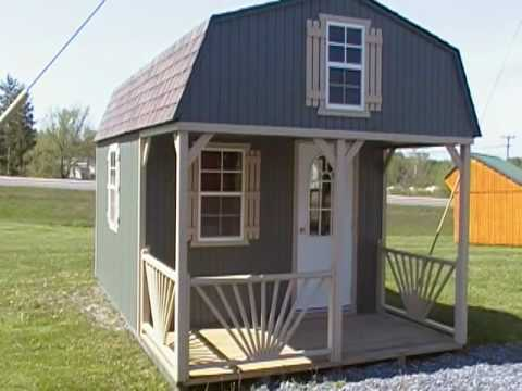 How To Build A 10x12 Tall Barn Style Shed With Loft Doovi