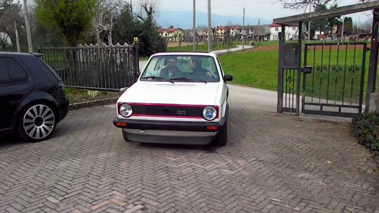 golf mk1 gti 1800 youtube. Black Bedroom Furniture Sets. Home Design Ideas