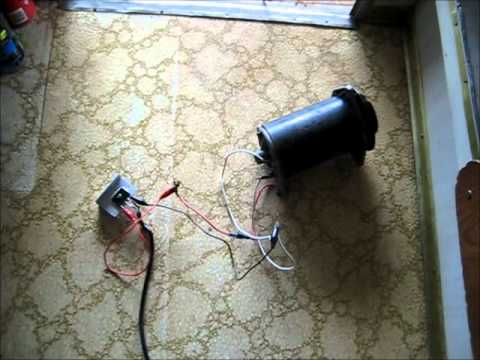 Lucas Generator on Rectified Variac & Aerosol can Implosion