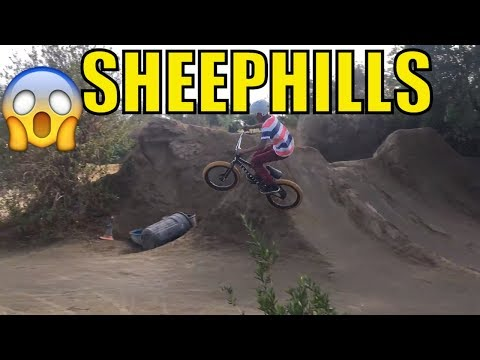 TRYING TO CLEAR THE BIG JUMPS AT SHEEP HILLS - OMG BRO THOSE JUMPS ARE SO BIG😱😨