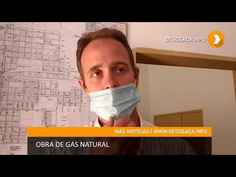 OBRA DE GAS DOMICILIARIO EN #MORTEROS