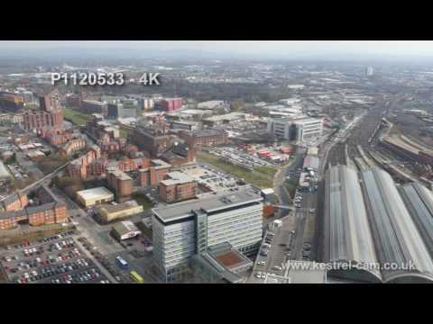 Manchester Aerial Drone Footage