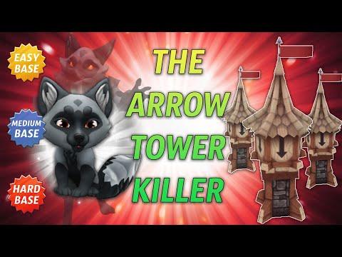 Royal Revolt 2 - Aska Against The Lethal Eagle Tower Boost!