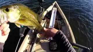 Bass Fishing in my Nucanoe Frontier 12