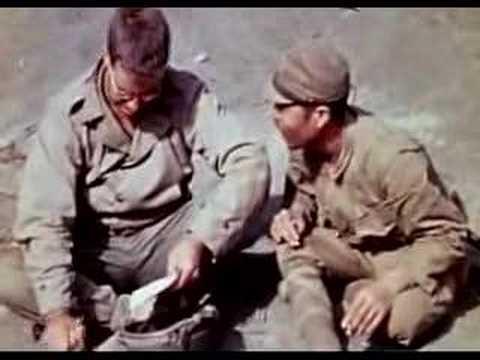 1945 Iwo Jima - POW Enclosure - Unedited Raw Footage