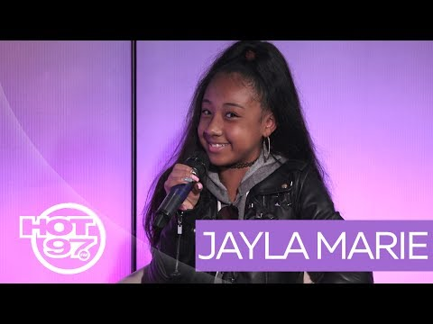 Jayla Marie Talks Youngest Star On The Rap Game Nas Tweet Q Of Worldstar On Ladies First Youtube