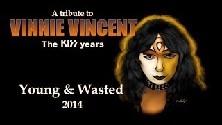 Vinnie Vincent - YOUNG & WASTED (Instrumental Cover)