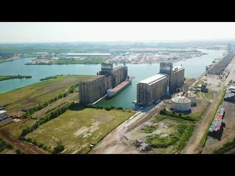 DJI MAVIC PRO DRONE VIDEO - ILLINOIS INTERNATIONAL PORT (CHICAGO)