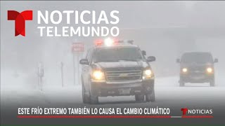 Aunque Trump lo niegue, sí hay cambio climático | Noticias Telemundo