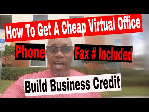 How To Get A Cheap Virtual Office Address❗️ Phone, Fax Numbers Included