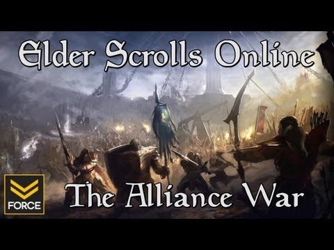 Elder Scrolls Online: The Alliance War (Who will you fight for?)