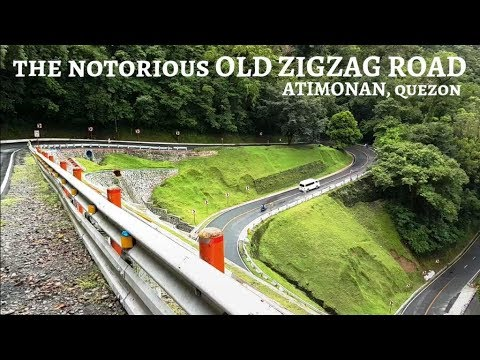 Old Zigzag Road aka Bitukang Manok at Atimonan, Quezon │Pilot Episode (Tour 01) - [ENG SUB]