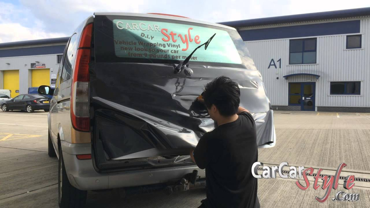 5D Carbon Fibre Vinyl Wrap Vehicle Wrapping YouTube