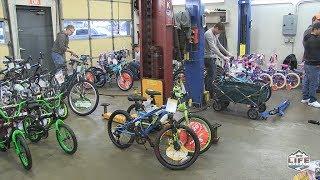 Toy Drive Bike Build at Sangster Motors 2018-12-10