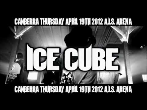 Ice Cube with WC live in Canberra April 2012!