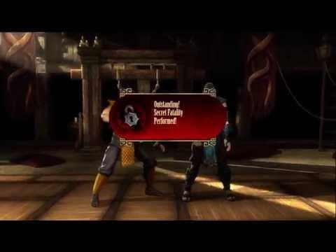 Mortal Kombat 9 Scorpion all 3 Fatalities